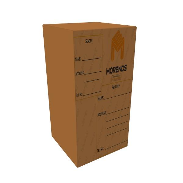 Parcel cardboard box 240L