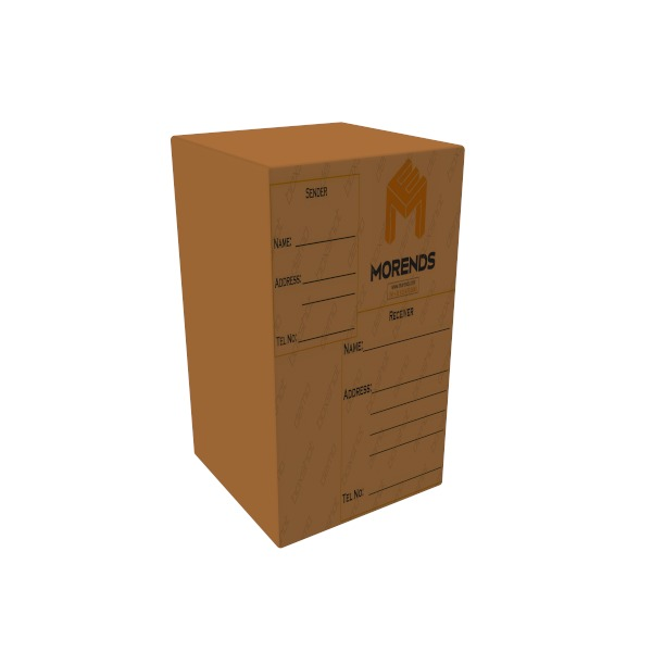 Parcel cardboard box 160L